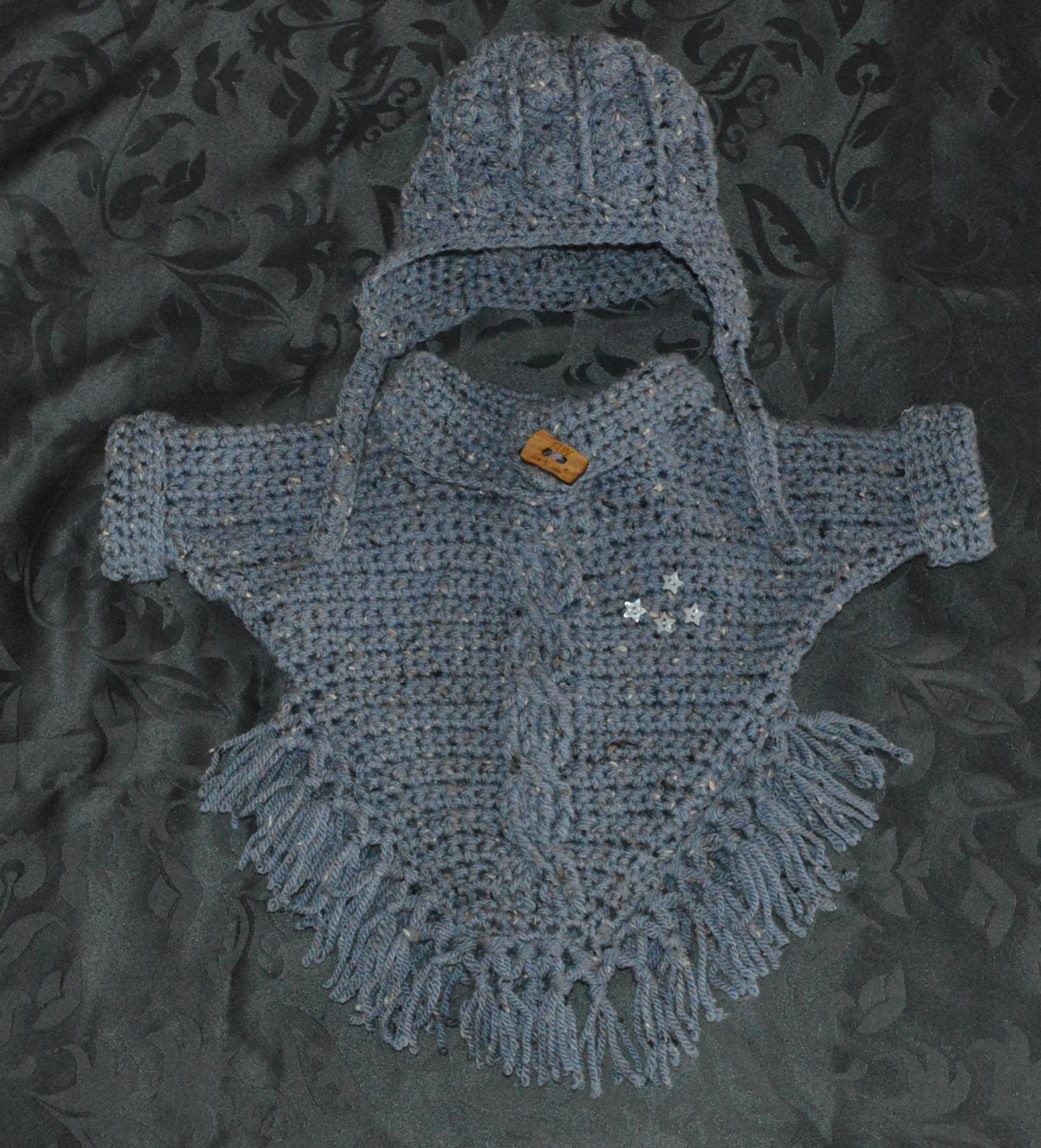 Favoriete Baby Poncho Haken Patroon Sa32 Aboriginaltourismontario